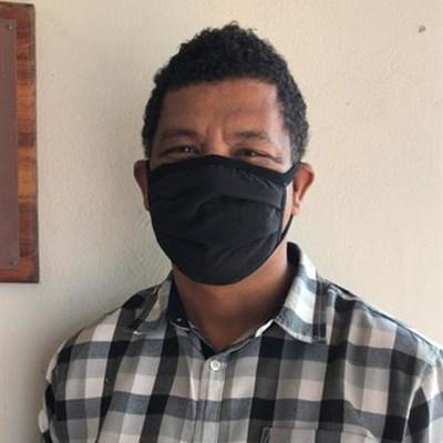 Beskerm jouself en ander met 'n masker