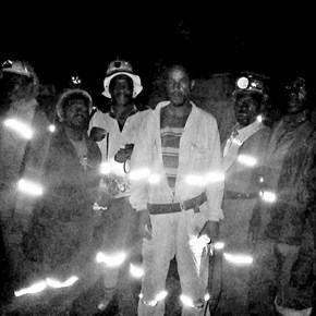 Miners stage underground sit-in for salaries