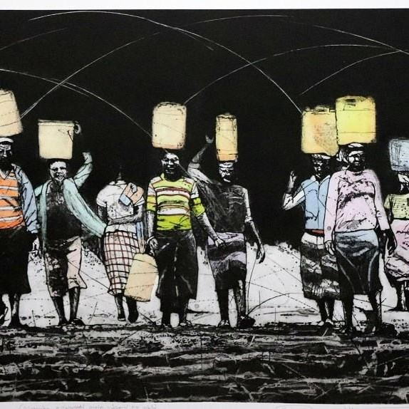 Hlungwane's brilliance shines at local gallery