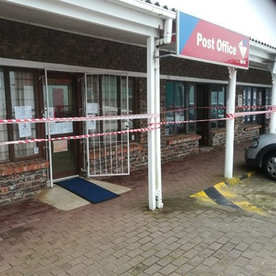 Post office employee treated for shock