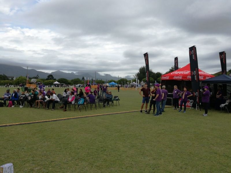 Kom kuier saam by Relay for Life