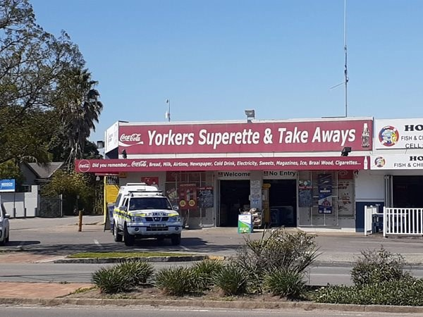 Armed robbery at Yorkers Superette