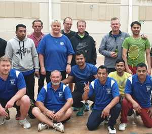 Badminton club battles it out to find champion