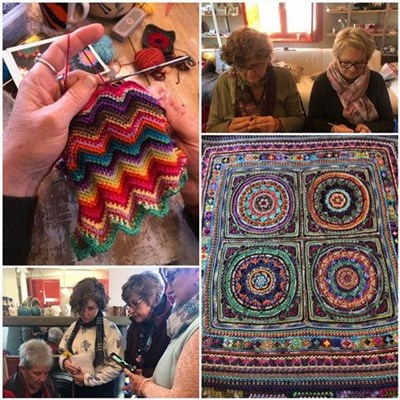 Crochet retreat a creative treat