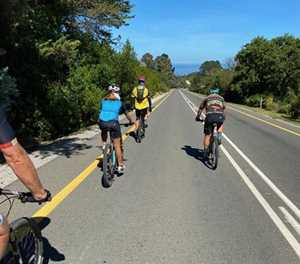 Cycling through the Garden Route's 14 passes