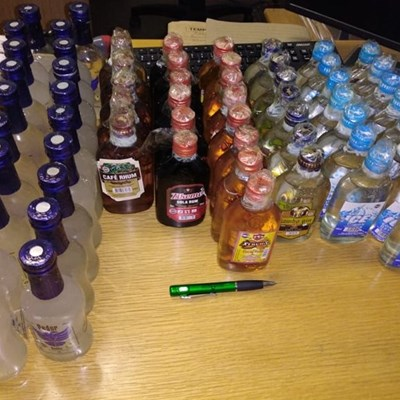 Police clamp down on drugs and illegal alcohol