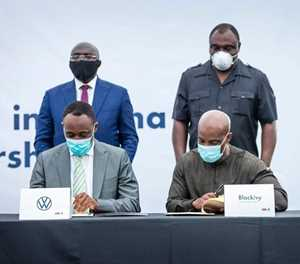 Volkswagen and BlackIvy enter strategic collaboration