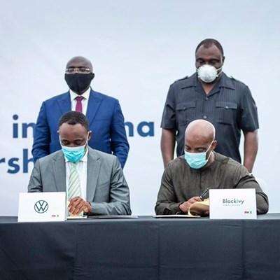Volkswagen and BlackIvy enter strategic collaboration