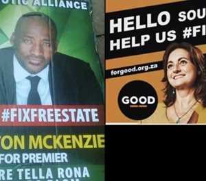#IMadeMyMark - Patriotic Alliance and GOOD argue over who owns 'Fix the Free State' slogan