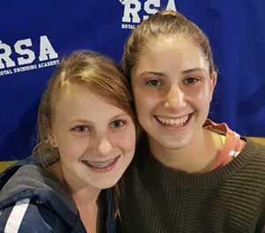Swimming duo to represent SA
