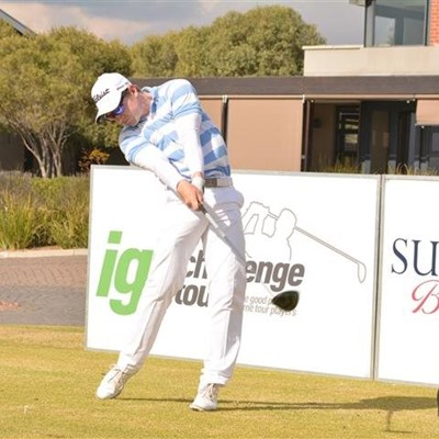 Conradie inches clear at IGT Copperleaf