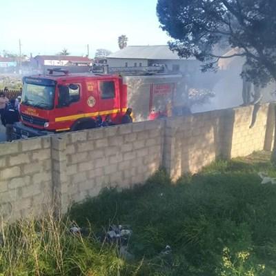 Rosemoor brand vullis in protes oor vullis, gemors