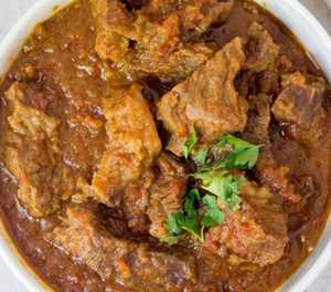 Recipe: Lamb curry with home-made roti