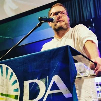 Nuwe DA-voorsitter oor die toekoms
