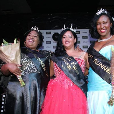 Miss Full Figure George crowned