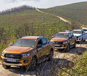 New Ford Ranger wows in Garden Route
