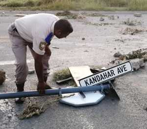 Ladysmith: Angry protesters blockade roads