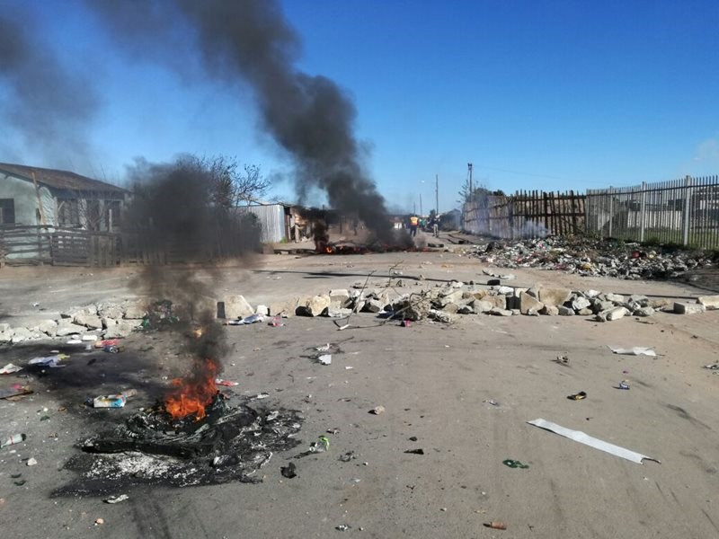 Latest: Riots in Thembalethu