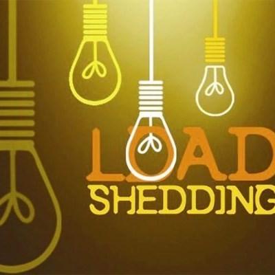 Weekend load shedding forecast