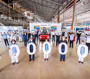 VWSA celebrates over 4 million vehicles manufactured in Uitenhage