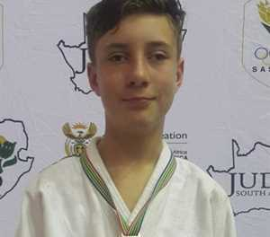 Visually impaired judoka excels