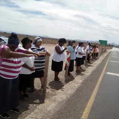 Fighting road accidents through prayer