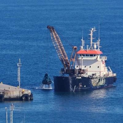 Maintenance dredging underway at M Bay port