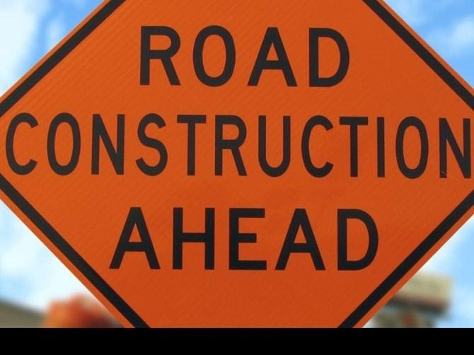 Department says roadworks to finish April 2020