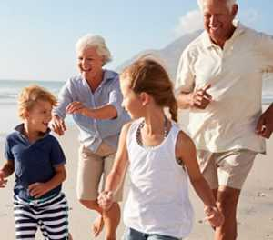 The legal duty of a grandparent to maintain their grandchild