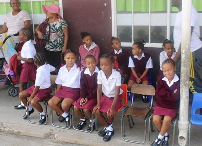 My eerste dag van skool: De Villiers Primêre Skool