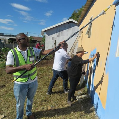 Home and creche get new life in Madiba's honour