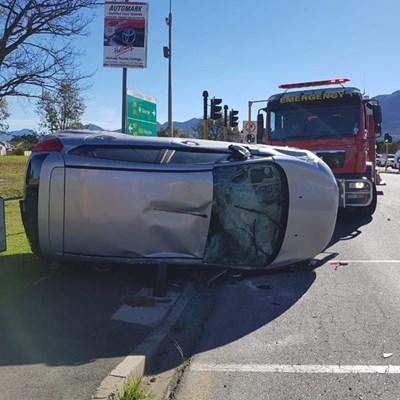 Opvolg: Motorongeluk in Knysnaweg