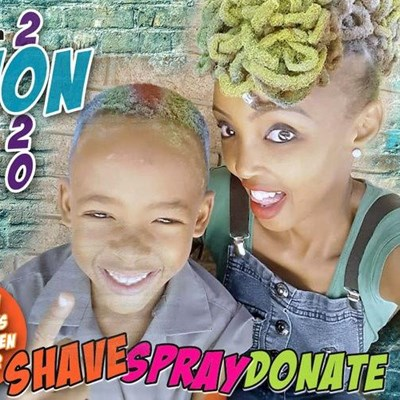 Shave, spray, give hope with Shavathon 2020