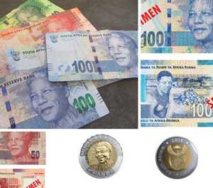 New Madiba bank notes and coins