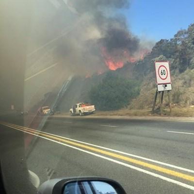 Fire in Kaaimans Pass