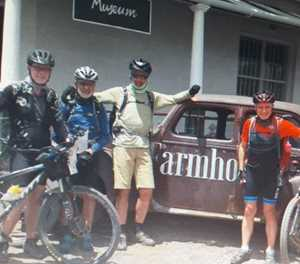 Cyclists navigate Freedom Challenge