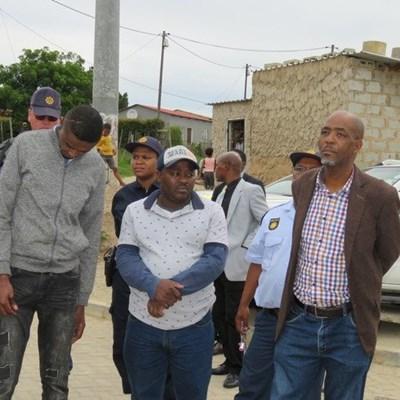 Judge visits site where Molosi last walked