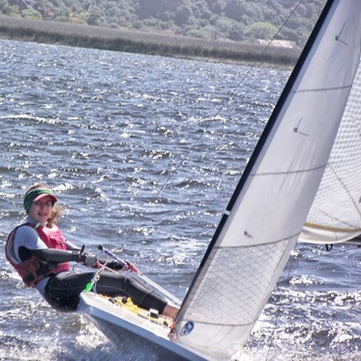 Great sailing in excellent conditions on Sunday