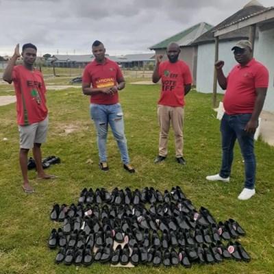 EFF donates school supplies