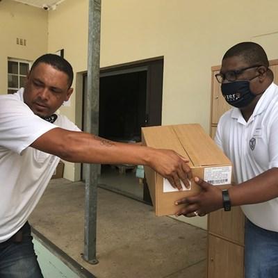 Distell George donates sanitiser to George Hospital