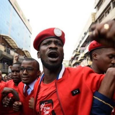 Museveni is 'a perfect emulation of Idi Amin', says EFF after Bobi Wine's arrest