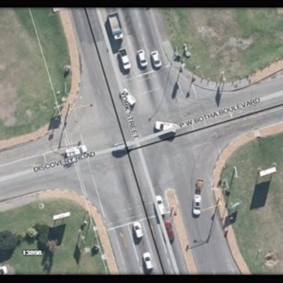 Upgrading of intersection in Industrial area