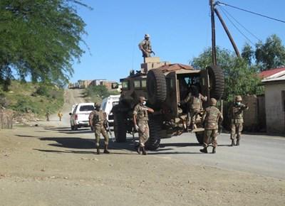 The SA Army comes to town