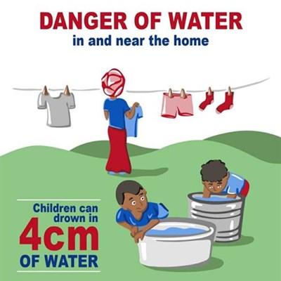 Waterveiligheid gedurende grendeltyd