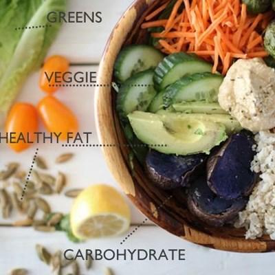 Nutritious, delicious, convenient bowl food