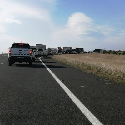 N2 reopened after accident