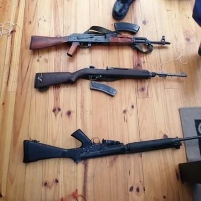 Massive weapon bust in Great Brak River