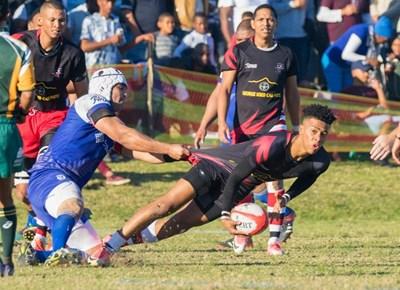Premierliga-rugbywedstryd op Groot-Brakrivier