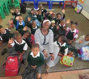 Mzoxolo Primary School welcome grade 1s