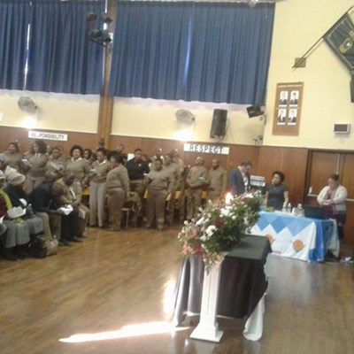 Memorial service for Victor Molosi